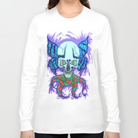 creativity Long Sleeve T-shirts featuring Creativity  by Edgar Huaracha