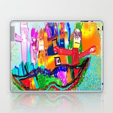 House of mustache Laptop & iPad Skin