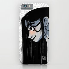 Black hair Slim Case iPhone 6s