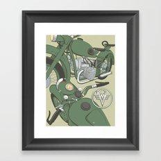 K750 Framed Art Print