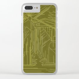 Yggdrasil Clear iPhone Case