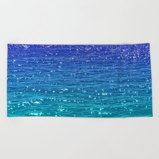 SEA SPARKLE Beach Towel