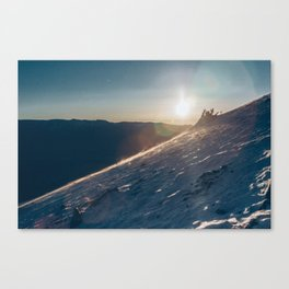 ELBERT ASCENT 01 Canvas Print