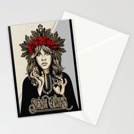 Stevie Nicks White Witch Stationery Cards