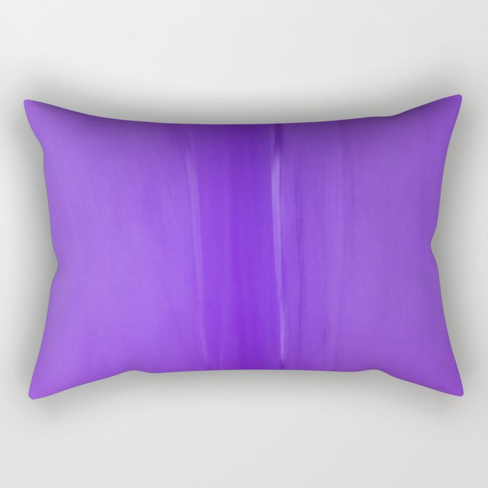Abstract Purples Rectangular Pillow