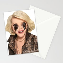 JOAN RIVERS VISITS A PLASTIC SURGEON IN HELL Stationery Cards