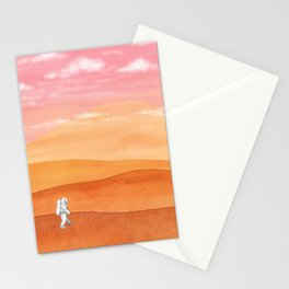 Olympus Mons Stationery Cards
