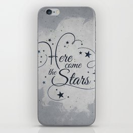 Here come the Stars! iPhone Skin