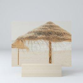 beach dreams Mini Art Print