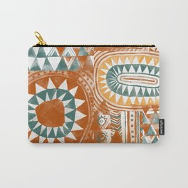 Tribal Bohemian Mosaic Carry-All Pouch