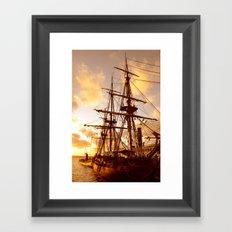 PIRATE SHIP :) Framed Art Print