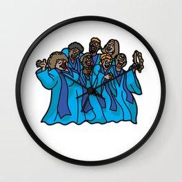 GOSPEL CHORUS Church Singer Music Christian Music Wall Clock