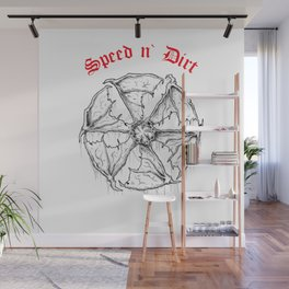 Speed and Dirt Wall Mural
