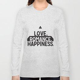 Sacred Symbols - Pyramid - All Seeing Eye - Love,Romance, Happiness - Secret Long Sleeve T-shirt