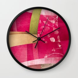 Vintage poster Wall Clock