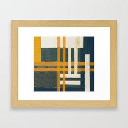 Urban Intersections 7 Framed Art Print