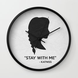 Stay With Me Wall Clock