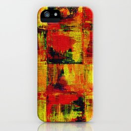 Abstract #1 iPhone Case