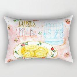 Cookies and Milk Rectangular Pillow