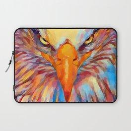 Bald Eagle Watercolor Laptop Sleeve