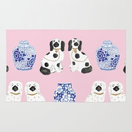 Staffordshire Dogs + Ginger Jars No. 4 Rug