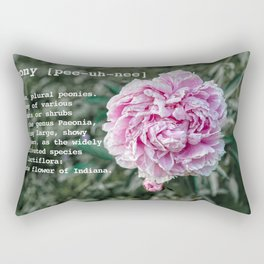 Peony by Definition Rectangular Pillow