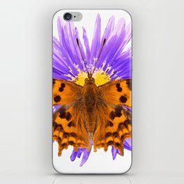 Comma Butterfly iPhone Skin