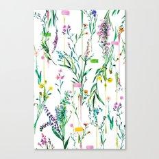 Fleur botanique Canvas Print