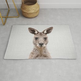 Kangaroo 2 - Colorful Rug