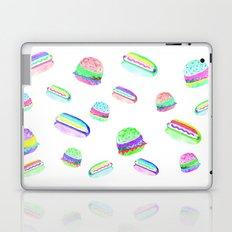 Colorful Hot-Dog and Burger Pattern Laptop & iPad Skin