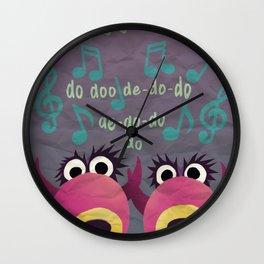 Mahna Mahna Wall Clock