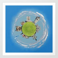 drobeta turnu severin tiny planet Art Print
