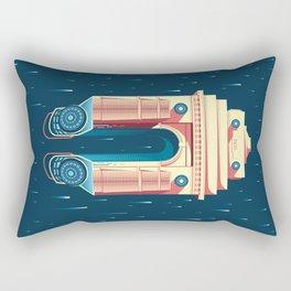 Sci-Fi India Gate Rectangular Pillow