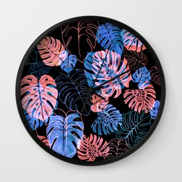 Kona Tropic Neon Wall Clock