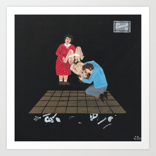Rosemary & Fred West Art Print