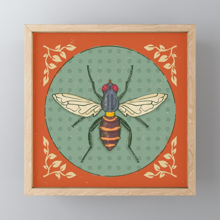 Insect Framed Mini Art Print