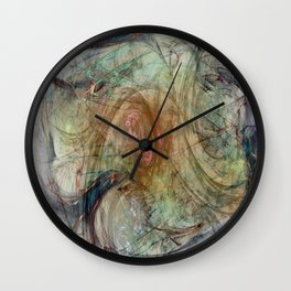 Summer's Lease Wall Clock