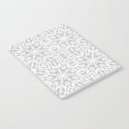 Pattern Grey / Gray Notebook