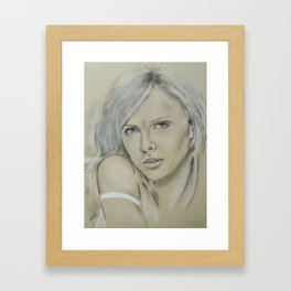 Charlize Framed Art Print