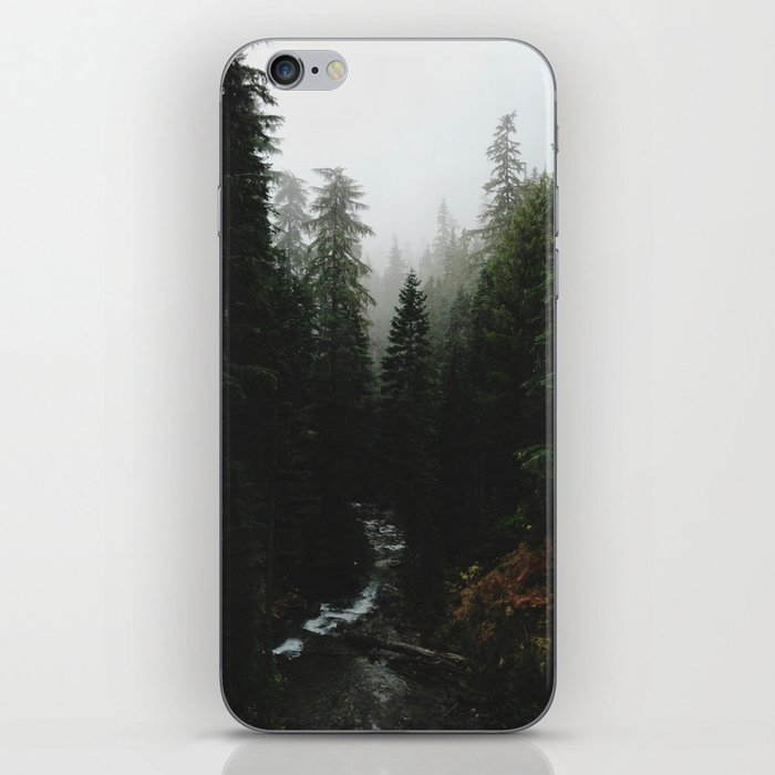 Rainier Creek iPhone Skin