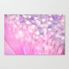 Feather Sparkles III Canvas Print