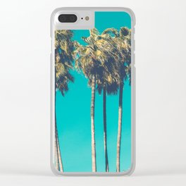 A Few Turquoise Palms Clear iPhone Case