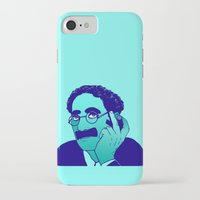 marx iPhone & iPod Cases featuring Groucho by Kramcox