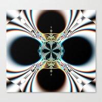 mod Canvas Prints featuring mod by Maureen Popdan