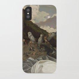 Paw Pad Path iPhone Case