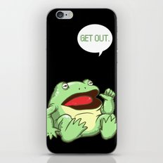 GET OUT. iPhone & iPod Skin