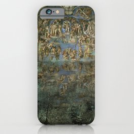 Apocalyptic Vision of the Sistine Chapel Rome 2020 iPhone Case