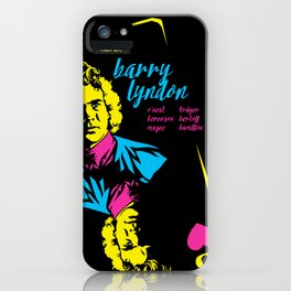THE FILMS OF KUBRICK :: BARRY LYNDON iPhone Case