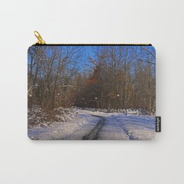 Frosty Footpath Carry-All Pouch