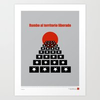 CUBA: Rumbo al Territorio Liberado (Toward a Liberated Territory) Art Print